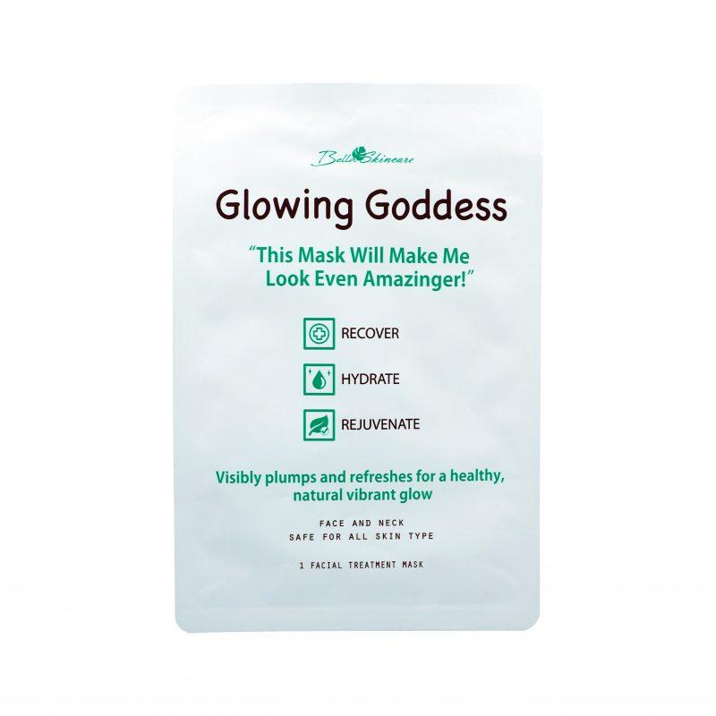 Glowing Goddess Mask 1